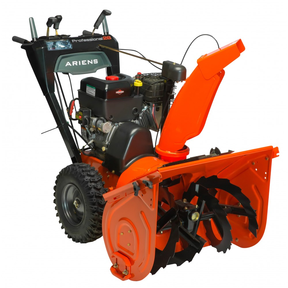 professional snowblower specifications ariens