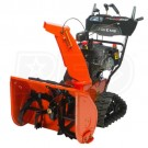 Ariens Platinum Track SHO 28 Electric Start Model 921052 Two Stage Snow Blower