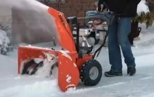 Ariens Platinum snow blower